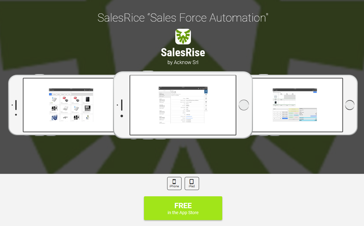 Salesrise appadvice
